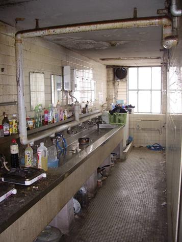⑩旧洗面所